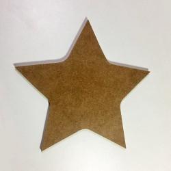 Forme étoile en bois à décorer