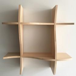 Étagère en bois Joséphine - Version bois massif (hêtre)