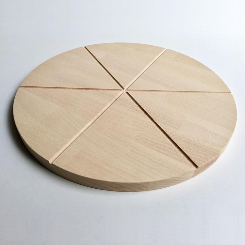 Planche à découper la pizza Biancha - Plateau en bois - Photo 1