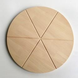 Planche à découper la pizza Biancha - Plateau en bois - Photo 2