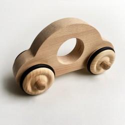 Petite voiture Anatole en bois brut - Jouet en bois - Photo 1