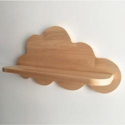 Gabrielle étagère murale nuage en bois - Photo 2