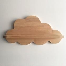 Gabrielle étagère murale nuage en bois - Photo 3