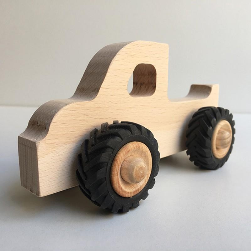 Henry le Pick-up en bois - Jouet en bois - Photo 1