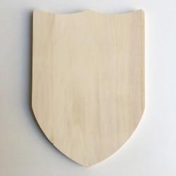 Bouclier en bois vierge à décorer et personnaliser