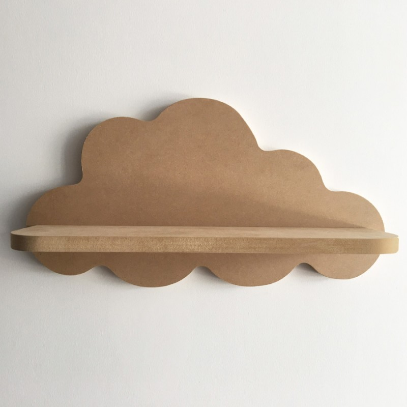 Gabrielle étagère murale nuage - Version MDF - Photo 1