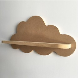 Gabrielle étagère murale nuage - Version MDF - Photo 2