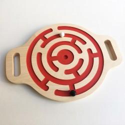 Victor le jeu d'équilibre en bois - Labyrinthe billes double-face - Photo 2