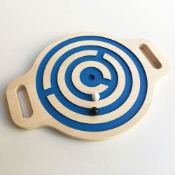 Victor le jeu d'équilibre en bois - Labyrinthe billes double-face - Photo 3