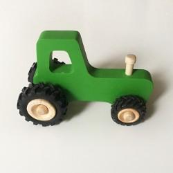 Joseph le petit tracteur - Vert - Jouet en bois - Photo 2