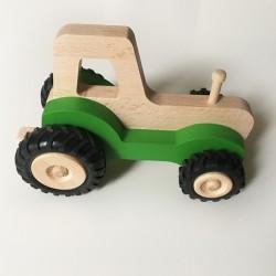 Serge le tracteur en bois