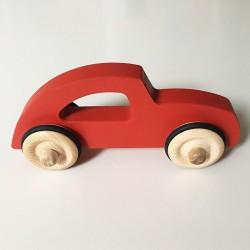 Diane la voiture style rétro chic - Version Rouge - Jouet en bois - Photo 2