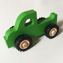 Henry le Pick-up en bois - Vert - Jouet en bois - Photo 1