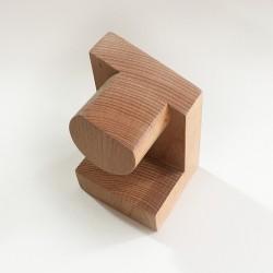 Georges, support en bois - Présentoir pour montre et bracelet - Produit seul - Photo 1