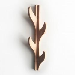 Lilian le portemanteau mural vertical en forme d'arbre - 4 crochets - Photo 1