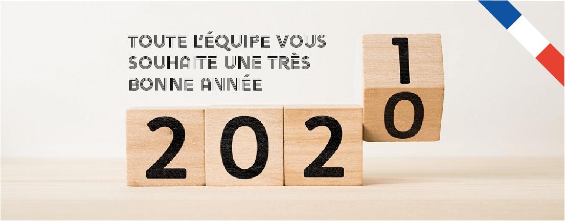 Bannière bonne année 2021