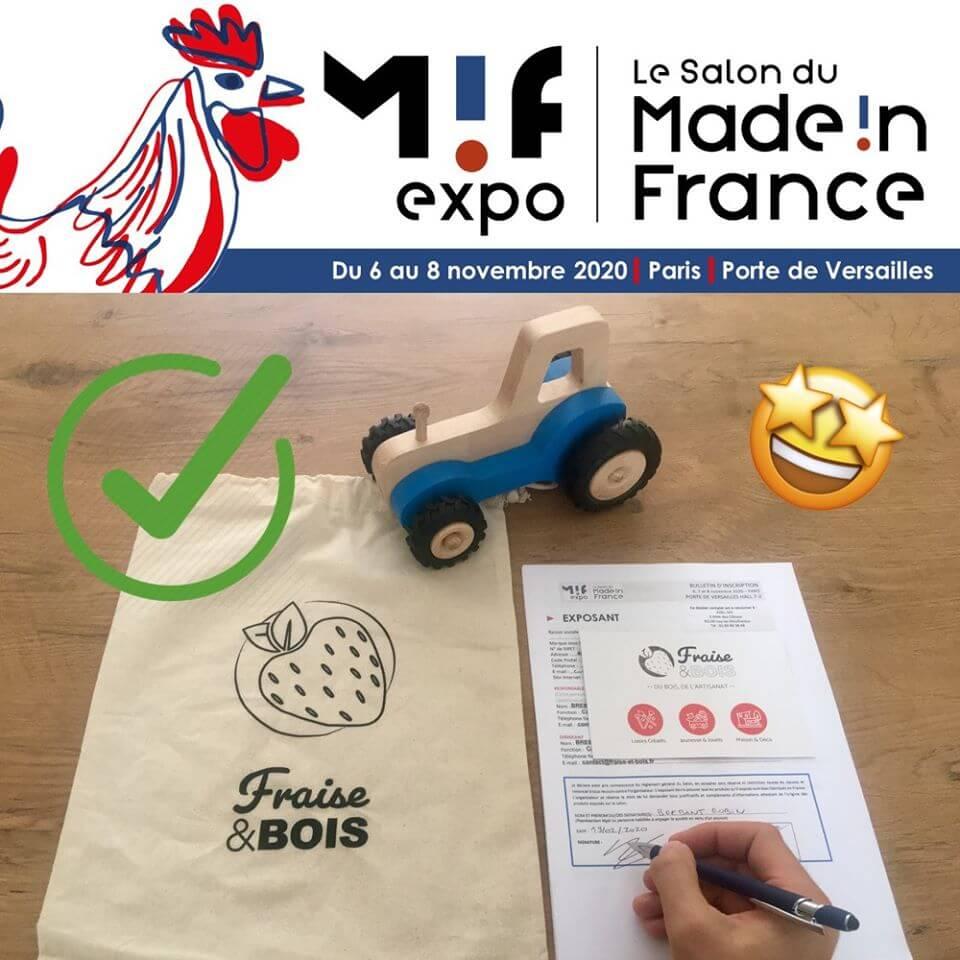 Fraise & Bois - Salon MIF EXPO 2020